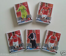 MATCH ATTAX EXTRA 2014/15 MANAGER CAPTAINS NEW SIGNINGS CARDS