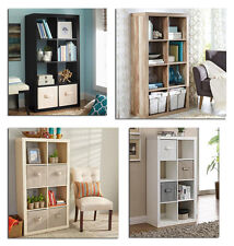 Organizer 8 Cube Storage Book Shelves Square Bookcase Multiple Variations NEW