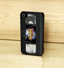Back To The Future DeLorean Time Vintage VHS Tape Case for iPhone Samsung HTC