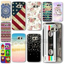 New Colorful Drawing PC Hard Back Case Cover For Samsung Galaxy S6 S6 EDGE NOTE4
