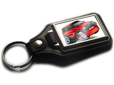 MG METRO Hatch Back Koolart Quality Leather and Chrome Keyring Any Colour!