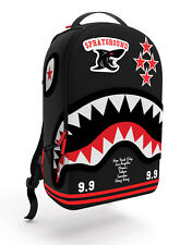 [B213-B213] SPRAYGROUND VARSITY SHARK ACCESSORIES ACCESSORIES BLACK/RED/WHITE