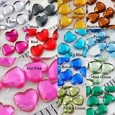 4mm Heart Rhinestone Flat Back Scrapbooking Card Making Jewel Embellishment
