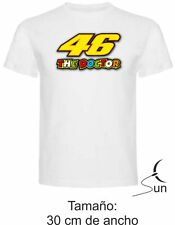 CAMISETA 184 VALENTINO ROSSI MOTO GP LEGEND THE DOCTOR THE BEST T-SHIRT SIL