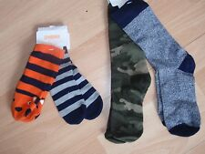 NWT BOYS GYMBOREE SZ 12-24 MONTHS 4, 7-8 SOCKS S'MORE STYLE