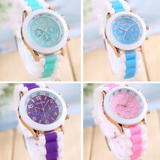 2015 Unisex Fashion Silicone Quartz Men Women Jelly Wrist Casual Sports Watch