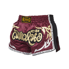 TOP KING Retro Muay Thai Fighting Kickboxing Boxing Shorts Adult Youth