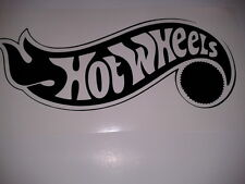 hot wheels vinyl decal window or bumper sticker hotwheels