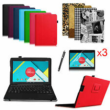 For Nextbook Ares 11 11.6-inch Tablet Folio Stand Case Cover/Protector/Stylus