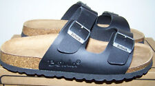 Women's Betula Birkenstock Boogie Double Strap Sandals BLACK 8 NEW Arizona