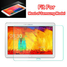 9H GENUINE For Samsung Galaxy Note Tab Tempered Glass Screen Protector Film New