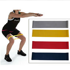 Tension Exercise Resistance Band Loop Weight Training Fitness Crossfit Strength