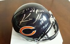 KEVIN WHITE signed autographed CHICAGO BEARS mini football helmet w/COA