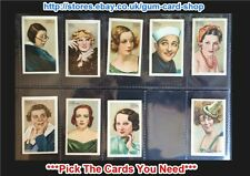 Gallaher - Champions of Screen & Stage (Red) 1934 ***Pick The Cards You Need***