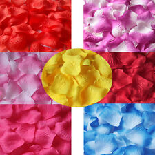 1000/2000pcs Various Colors Silk Flowers Rose Petals Wedding Party Decorations