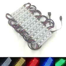 500 100 20 Pcs IP65 Waterproof 5050 SMD 5 LED RGB LED Module Light Lamp DC 12V
