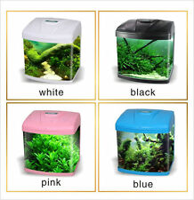 Aquarium Fish Tank Tropical Coldwater LED Light With Accessories & Cabinet