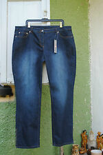 Neu Stretch Jeans 5Pocket 4wards Hose Used Look Stretchhose Kurzgröße 25 Gr. 50