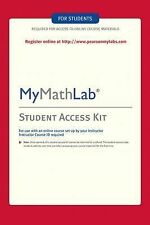 MyMathLab Student Access Code, Pearson Labs, ISBN-13: 978-0-321-19991-1
