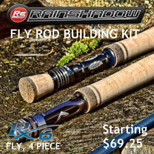 Rainshadow RX6 Fly Rod Building Kit 4 Piece