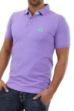 Selected Herren Poloshirt Men Polo Shirt Paisley Purble Sommer - 70% WOW
