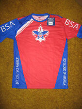 BOY SCOUT OFFICIAL SPF35 JERSEY SHIRT YOUTH SIZE SMALL MEDIUM MADE IN USA NEW