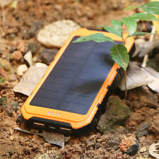 18000mAh Portable Waterproof Solar Charger USB External Battery Pack Power Bank