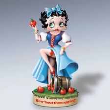 BETTY BOOP How About Them Apples Born to Be Princess SNOW WHITE Figurine NEW