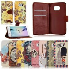 Card Holder Wallet Flip Leather Case Cover Shell Housing Protector Cell Phones