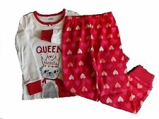 NWT Girl's Gymboree Queen Hearts dog shirt pants pajamas gymmies 18-24 months 2T