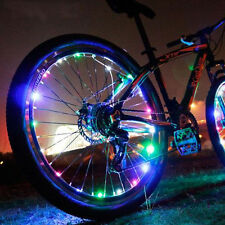 Waterproof Bicycle Moto Car Bike Tire Wheel Valve Signal LED Flash Spoke Light