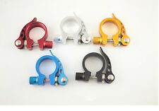 Bike Bicycle Cycling Quick Release Seat Post Seatpost Clamp 31.8mm 5 Color   /AB