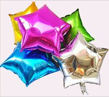 10pcs Wholesale Colorful Stars Foil Balloon Birthday Wedding Helium Party Decor