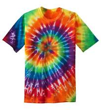 Tie Dye Awesome T Shirts Spiral Variation Multi-Colors and S M L XL XXL 3XL