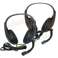 KOMC Sound Effect Stereo PC Laptop Gaming Headset Headphones Noise Cancel Mic