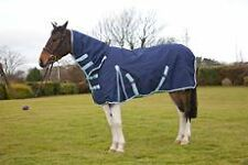 PROTACK TURNOUT RUG COMBO 1200D NAVY EQUINE HORSE HORSE RUGS