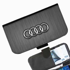 Audi Grain Leather wallet phone case for iPhone Samsung Sony Huawei Blackberry