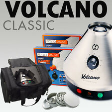 NEW Volcano Classic w/ Easy or Solid Valve + VAPECASE + 4 pc Grinder
