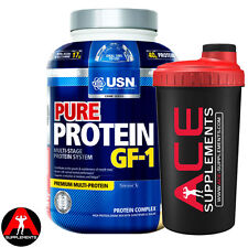 USN Pure Protein Multi Blend Whey Protein 2.28kg + Free shaker