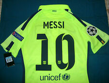 NIKE L. MESSI FC BARCELONA CHAMPIONS LEAGUE AUTHENTIC 3RD MATCH JERSEY 2014/15