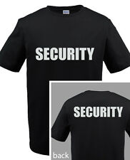 SECURITY T-SHIRT Event Bouncer Staff Party Guard Police Shirt Tee S-5XL