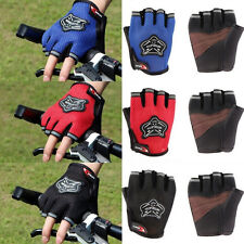 New Cool Sports Goods Unisex Racing Cycling Bike Bicycle Gel Half Finger Gloves