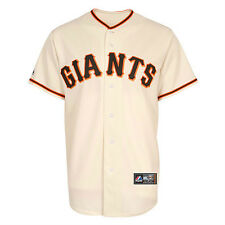 MLB Majestic Youth San Francisco Giants Home Ivory Replica Baseball Jersey
