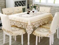 Cloth Embroidered Table Cloth Fabric Art tablecloth Tea Tablecover Chair Cover