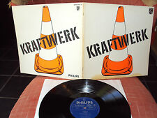 KRAFTWERK S/T SAME LP FOC ROTE PYLONE PHILIPS GERMANY 6305 058