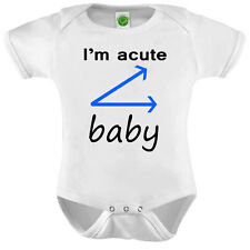 I'm Acute Baby Onesie ORGANIC Cotton Romper Baby Shower Gift Funny Present