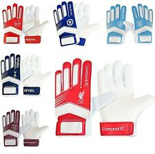 LICENSED GOALY FOOTBALL CLUB GOALKEEPER KIT PADDED GOALIE GOAL GLOVES SPORTS FLU