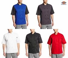 Dickies Chef Cool Breeze Chef Coat Short Sleeve Chef Jacket Unisex DC105