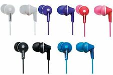 PANASONIC RP-TCM125 TCM125 Earbuds with Remote&Microphone, ErgoFit comfort & fit