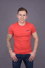 Superdry Orange Label Vintage Embroidery Tee Washed Poppy Red SS 2015